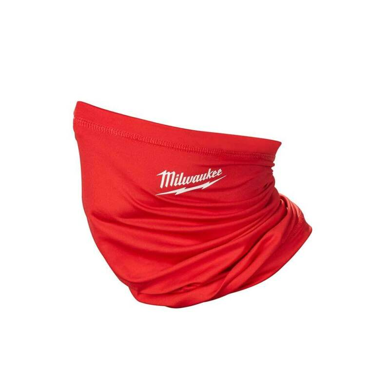 Milwaukee 423R Multi-Functional Moisture Wicking Breathable Neck Gaiter - Red