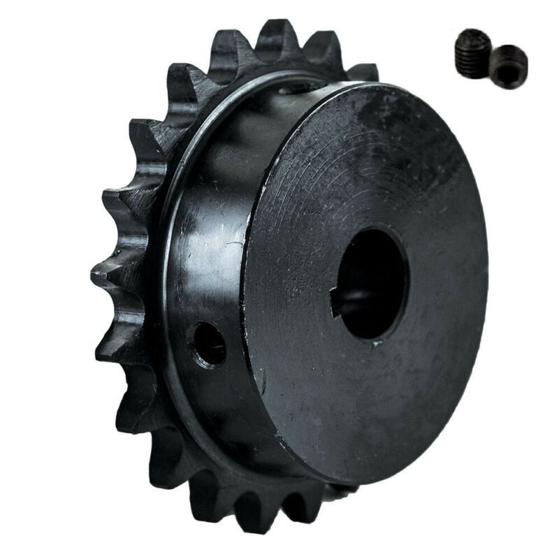 "40B21T-3/4"" Bore 21 Tooth B Type Sprocket for 40 Roller Chain"