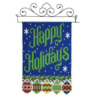 Herrschners® Happy Holidays Beaded Banner Kit ()