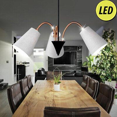 LED Tela Techo Colgante Lámpara Salón Ess Habitación Reflector Iluminación Flexo