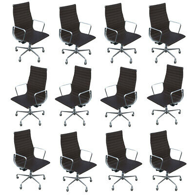 Herman Miller Eames Aluminium Group Executive Chair Leather Holdsale Pending
