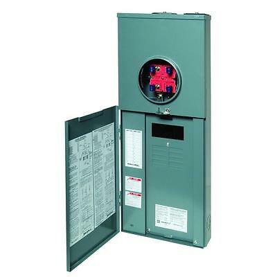Square-d 200-amp 16-circuit 8-space Outdoor Main-breaker Panel Ringless Q0 Csed