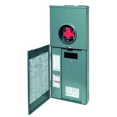 Square-d 200-amp 16-circuit 8-space Outdoor Main-breaker Panel Ringless Q0 Csed