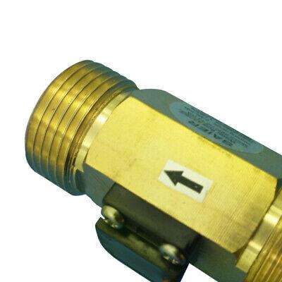 Liquid Water Flow Sensor Switch Hall Effect Flowmeter Meter 2-45lmin 45mm Ok
