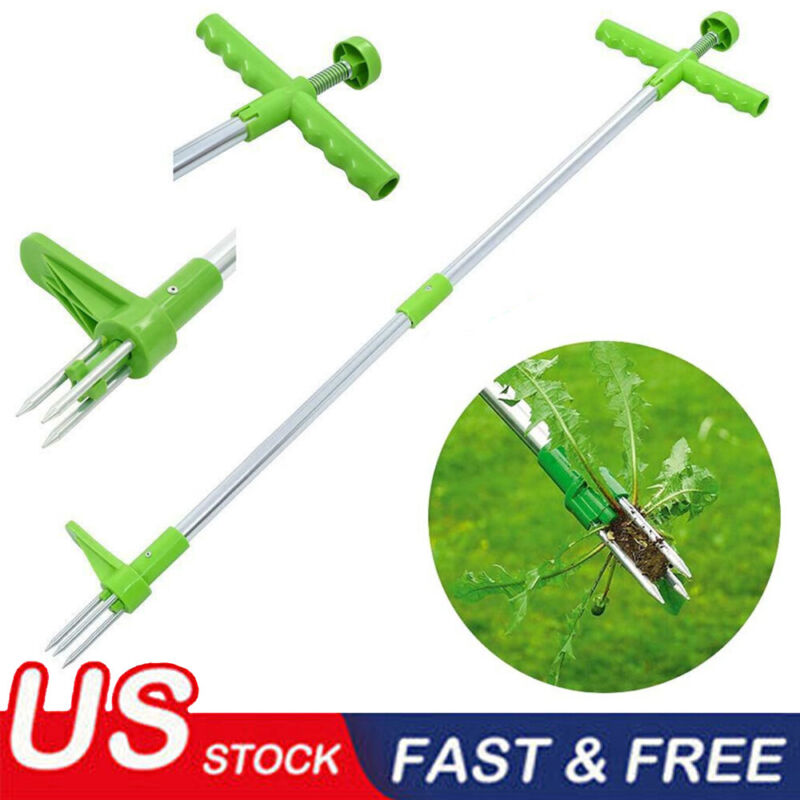 2020 Weed Puller Weeder Twister Twist Pull Garden Lawn Root Remover Killer Tool