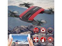 jxd wifi foldable pocket drone quadcopter