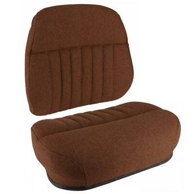 S118583 Cushion Set Brown Fabric Deluxe Style - 2 Pc. Fits Gleaner