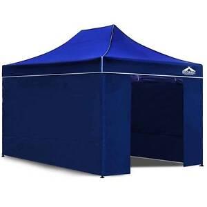3x4.5 Pop Up Gazebo Hut with Sandbags Blue Sydney City Inner Sydney Preview