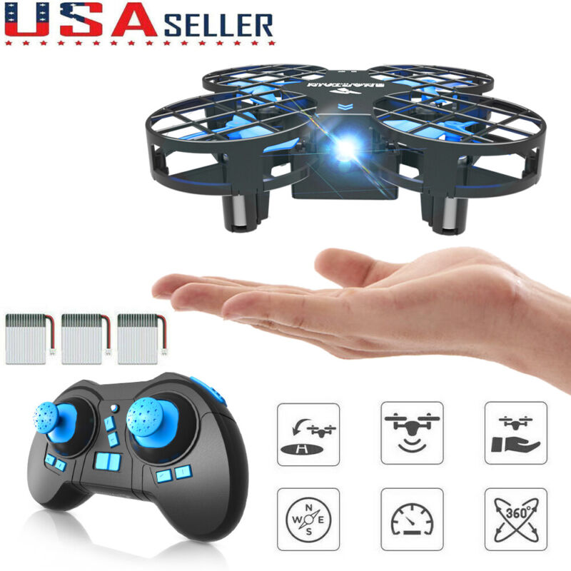 Mini RC Drone Altitude Hold 3D Filps Quadcopter Remote Control Xmax Gift for Kid