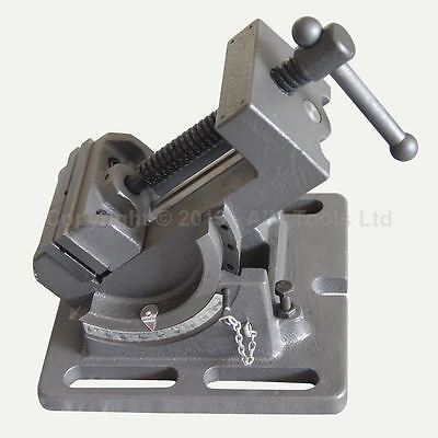 "4021633 75MM 3"" Pilar Drill Machine Milling Tilting Vice For Steel Work"