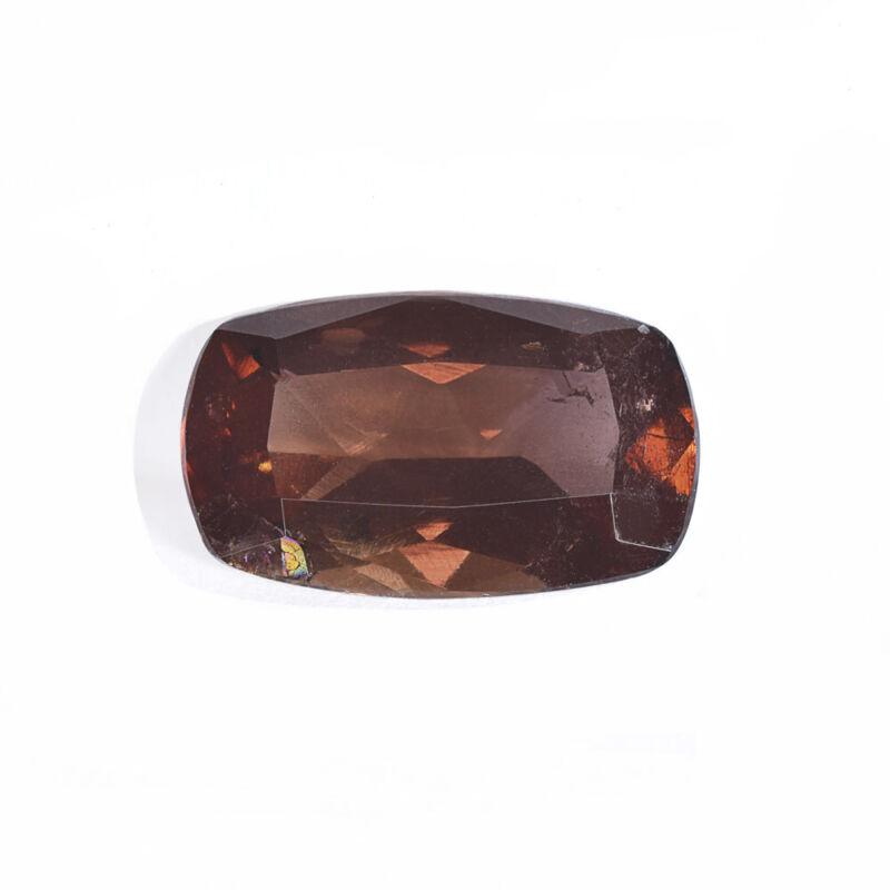 SI 1.74ct Natural Axinite Cushion Cut Loose Gemstone from Pakistan