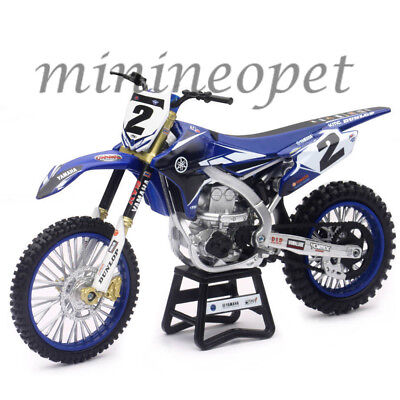 NEW RAY 57893 FACTORY RACING YAMAHA YZ 450F DIRT BIKE #2 1/12 COOPER WEBB #2 for sale  Shipping to India