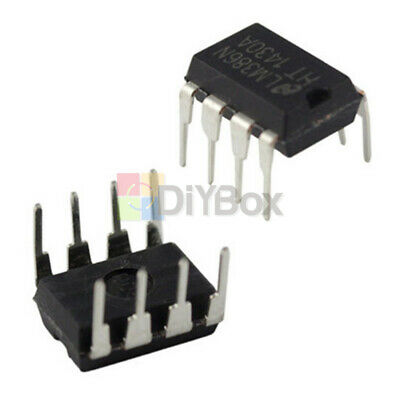 50pcs Ic Lm386n Lm386 Pwr Mono 8dip Audio Power Amplifier Ic Test Equipment