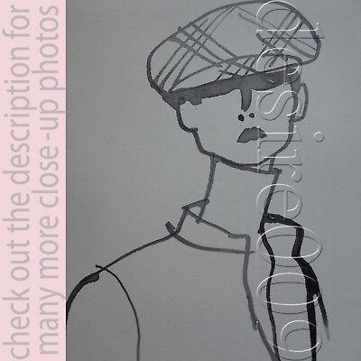 BURBERRYS LONDON Tweed Wool Fedora Cap Hat NWT