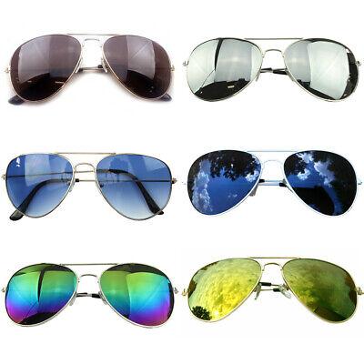 2er Pack Pilotenbrille Pornobrille Aviator Brille Sonnenbrille 2 - Aviators Sonnenbrille