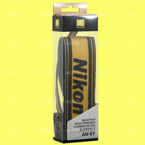 Genuine-Nikon-AN-6Y-Nylon-Neck-Strap-Camera-Neckstrap-AN6Y-made-in-Japan