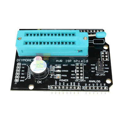 2pcs Avr Isp Shield Burning Bootloader Programmer Fit For Arduino Nano Uno R3