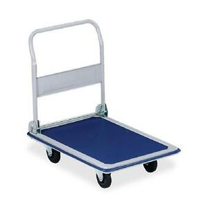 330lbs-Platform-Cart-Dolly-Folding-Foldable-Moving-Warehouse-Push-Hand-Truck- FREE SHIPPING