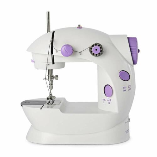 2-Speed Electric Portable Mini Desktop Sewing Machine Handheld Household Sewing Crafts