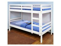🎆💖🎆 STRONG QUALITY🎆💖🎆 SINGLE-WOODEN BUNK BED FRAME w OPT MATTRESS- GRAB THE BEST