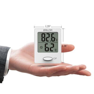 Baldr B0119 Mini Digital Indoor Thermometer Room Temperature Humidity Monitor