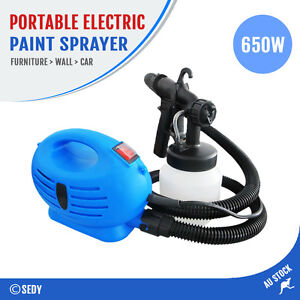 Electric Spray Gun Graffiti & Painting Paint Portable Sprayer Machine HVLP - NEW
