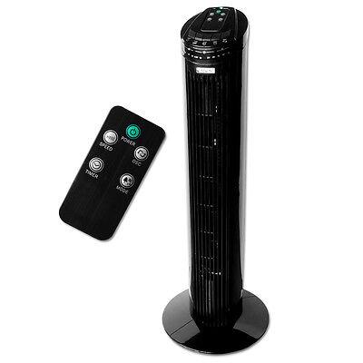 ELDSTAD Ventilator Lüfter Säulenventilator Standventilator Turmventilator 50W