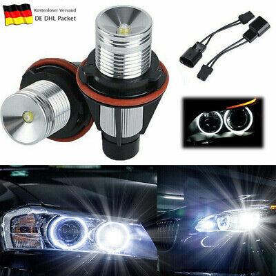 2stk LED Angel EYES Standlicht Birne Canbus für BMW E39 E53 E60 E63 E66 E83 Weiß