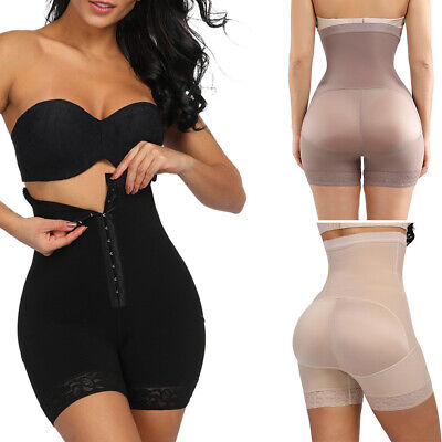 Fajas Colombianas High Waist Shapewear Tummy Control Shaper Girdle Boned Pants
