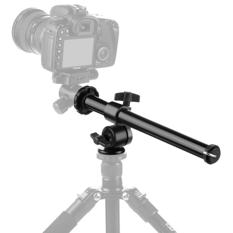 K&FConcept Magnesium Alloy Camera Tripod Multi-Angle Center Column Extension Arm