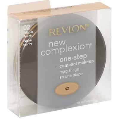 Revlon New Complexion One-step Compact Makeup, Tender Peach 0.35 oz
