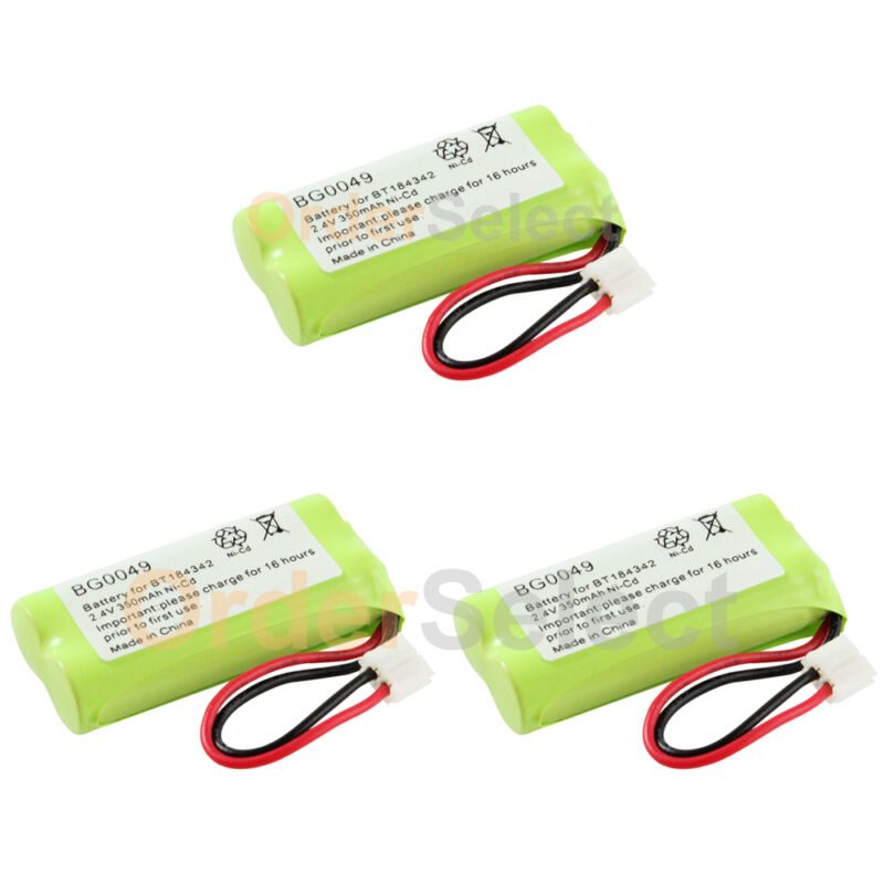 3 NEW Home Phone Battery for AT&T Lucent BT-6010 BT-8000 BT-8001 BT-8300 HOT!