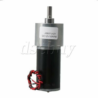 12v Cwccw Permanent Magnet Dc Motor Speed Reduction 10rpm For Diy Generator