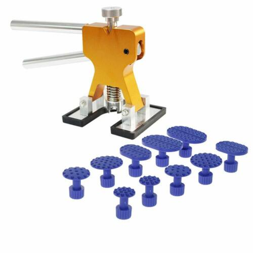 Leveling Hammer Repair Tool Car Body Work Aluminum Dent Puller Lever Tab Set
