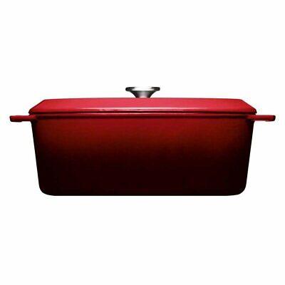 WOLL 'Iron, Bräter, rechteckig, Chili Red 34 x 26 cm, 12.5 cm...