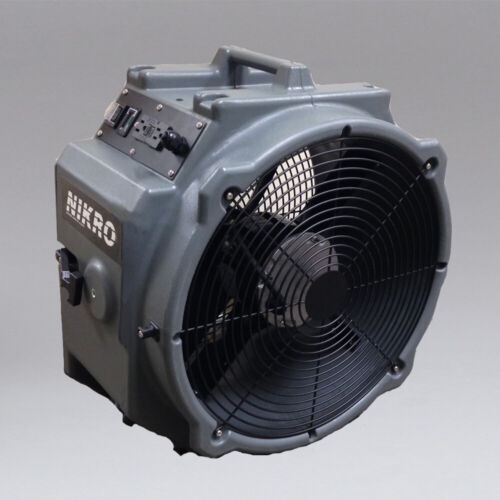 Nikro Axial Fan Air Mover, perfect for water damage restoration & carpet drying