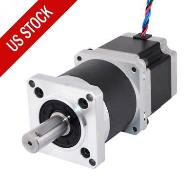 Nema 23 Geared Stepper Motor 1001 High Precision Planetary Gearbox 2.8a 4 Wires