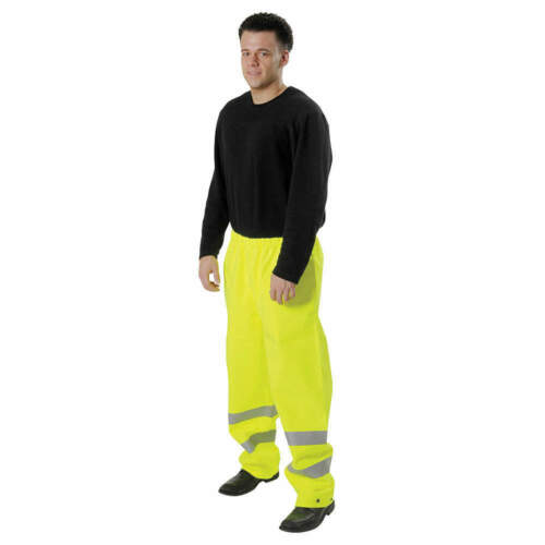 "Gore-Tex Rain Paints - Hi-Vis Yellow/Green Waist 40-7/8"" x Inseam 31"" Size: 3XL"