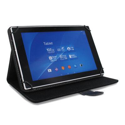 10 / 10,1 Zoll Tablet PC Universal Tasche Hülle Schutz Case Etui schwarz
