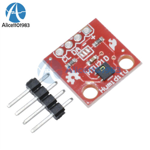 Temperature and Humidity HTU21D Sensor Module Board Breakout Module For arduino