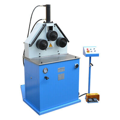 Hv 2hp Hydraulic Roll Bender Ring Roller Profile Tube Pipe Round Square 220v