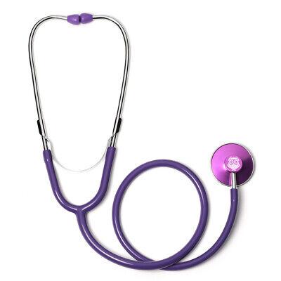 Purple Single Head Stethoscope With Owl Vintage
