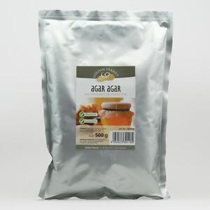 Agar Agar Pulver 500 g Lebensmittelzusatz E 406 natürliches Geliermittel