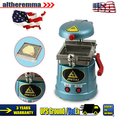 Dental Vacuum Molding Machine Former Thermoforming Machine Lab Equipment 800w Us