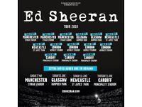 3 Ed sheeran tickets - Saturday 23rd June, Cardiff.