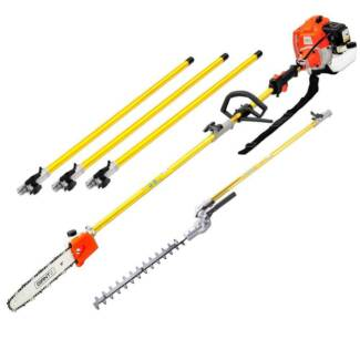 AUS FREE DEL-75CC 2.8kw 2 IN 1 Gardening Tool and Hedge Trimmer