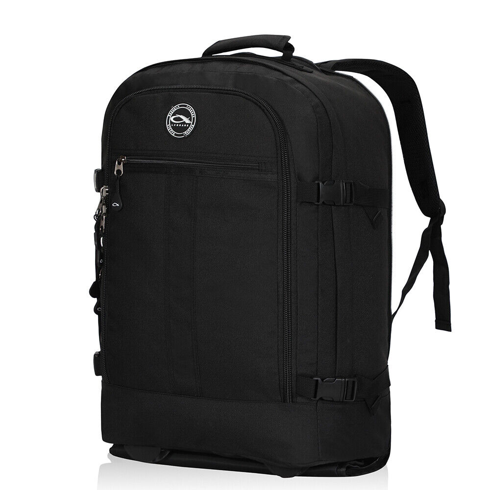 Mens CX Luggage Travel Trolley Backpack With Wheel Carry On