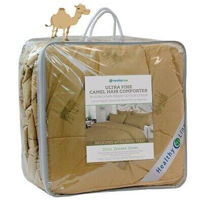 Eco-Friendly Luxurious Camel Hair Comforter Blanket Camel-Wool Duvet 450GSM NEW Eco Friendly Comforter