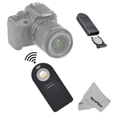 Wireless Remote For Canon T3i, T4i, T5i, 70D, 7D, 60D, 6D DSLR Cameras