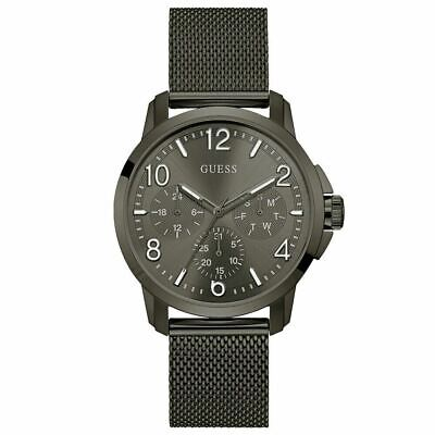 Guess W1040G2 Men's Stainless Steel Mesh Bracelet Casual Watch